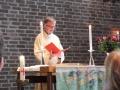 Dievkalpojums ar kristībām svētdienas rītā