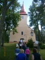 Apciemojam arī Āraišu baznīcu.